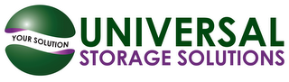 mark for YOUR SOLUTION UNIVERSAL STORAGE SOLUTIONS, trademark #85880400