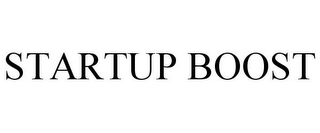 mark for STARTUP BOOST, trademark #85880869