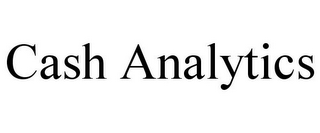 mark for CASH ANALYTICS, trademark #85881104
