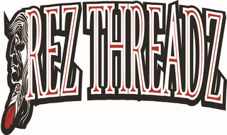 mark for REZ THREADZ, trademark #85881304