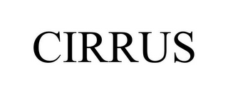 mark for CIRRUS, trademark #85881308
