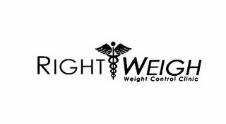 mark for RIGHT WEIGH WEIGHT CONTROL CLINIC, trademark #85881370