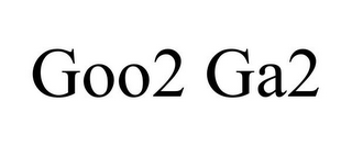 mark for GOO2 GA2, trademark #85881401