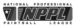 mark for NPPL NATIONAL PROFESSIONAL PAINTBALL LEAGUE, trademark #85881524