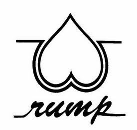 mark for RUMP, trademark #85881546