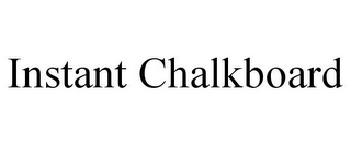 mark for INSTANT CHALKBOARD, trademark #85882091