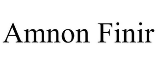mark for AMNON FINIR, trademark #85882125