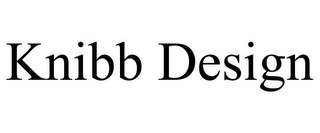 mark for KNIBB DESIGN, trademark #85882249