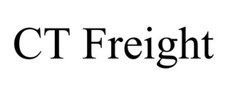 mark for CT FREIGHT, trademark #85882370