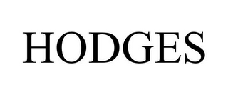 mark for HODGES, trademark #85882438