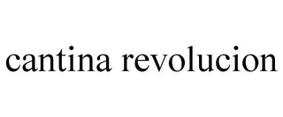 mark for CANTINA REVOLUCION, trademark #85882452