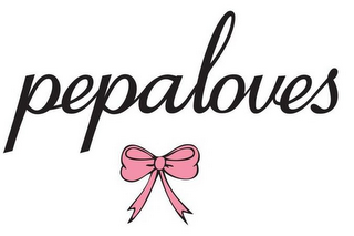 mark for PEPALOVES, trademark #85882521