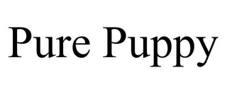 mark for PURE PUPPY, trademark #85882600