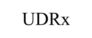 mark for UDRX, trademark #85882718