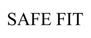 mark for SAFE FIT, trademark #85882834