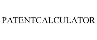 mark for PATENTCALCULATOR, trademark #85883127