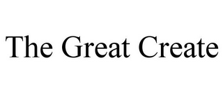 mark for THE GREAT CREATE, trademark #85883158