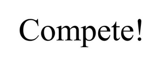 mark for COMPETE!, trademark #85883488