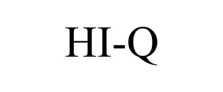 mark for HI-Q, trademark #85883785