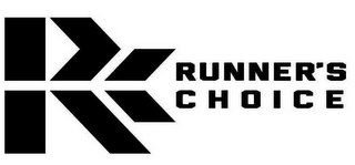 mark for RC RUNNER'S CHOICE, trademark #85883831