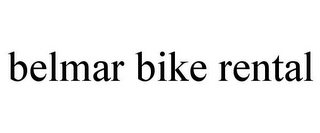 mark for BELMAR BIKE RENTAL, trademark #85883905