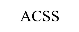 mark for ACSS, trademark #85884720