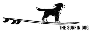 mark for THE SURFIN DOG, trademark #85884759