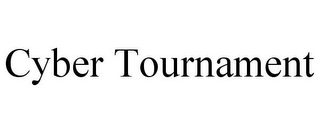 mark for CYBER TOURNAMENT, trademark #85884857