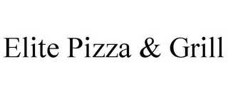 mark for ELITE PIZZA & GRILL, trademark #85884990