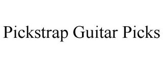 mark for PICKSTRAP GUITAR PICKS, trademark #85885123