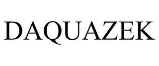 mark for DAQUAZEK, trademark #85885415