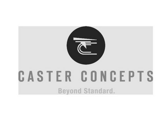 mark for CASTER CONCEPTS BEYOND STANDARD., trademark #85885800