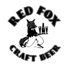 mark for RED FOX CRAFT BEER, trademark #85886023