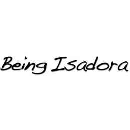 mark for BEING ISADORA, trademark #85886028