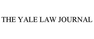 mark for THE YALE LAW JOURNAL, trademark #85886240