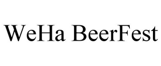 mark for WEHA BEERFEST, trademark #85886391