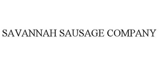 mark for SAVANNAH SAUSAGE COMPANY, trademark #85886393