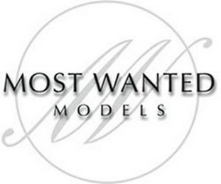 mark for M MOST WANTED MODELS, trademark #85886560