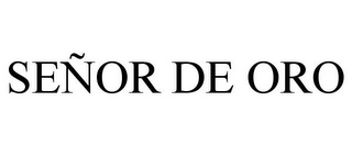 mark for SEÑOR DE ORO, trademark #85887118