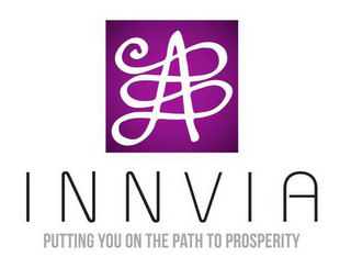 mark for INNVIA PUTTING YOU ON THE PATH TO PROSPERITY, trademark #85887360