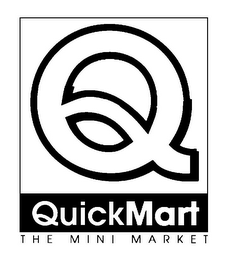 mark for Q QUICK MART THE MINI MARKET, trademark #85887509