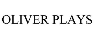 mark for OLIVER PLAYS, trademark #85887585