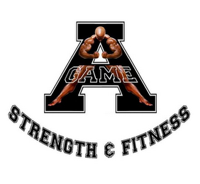 mark for A GAME STRENGTH & FITNESS, trademark #85888268