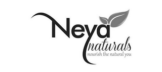 mark for NEYA NATURALS NOURISH THE NATURAL YOU, trademark #85888401