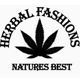 mark for HERBAL FASHIONS NATURES BEST, trademark #85888565