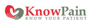 mark for KNOW PAIN KNOW YOUR PATIENT, trademark #85888758