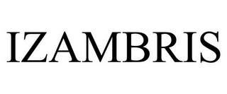 mark for IZAMBRIS, trademark #85888797