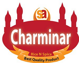 mark for SA CHARMINAR RICE N SPICE BEST QUALITY PRODUCT, trademark #85888928