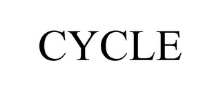 mark for CYCLE, trademark #85888977