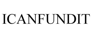 mark for ICANFUNDIT, trademark #85889092